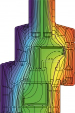 Isothermischer Verlauf Kunststoff-Fenster Schüco LivIng